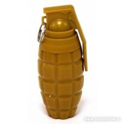 Ручка Жёлтая граната с кольцом