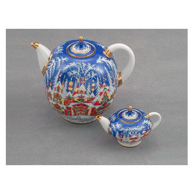 Комплект чайников «Зимняя сказка»