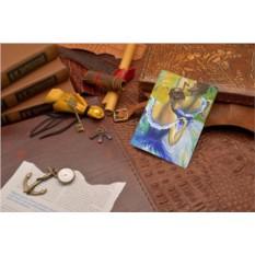 Обложка для документов Эдгар Дега Голубые танцовщицы