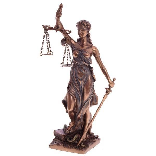 Фигурка из полистоуна Фемида высотой 21см