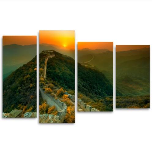 Модульная картина Великая китайская стена