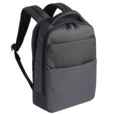 Серый рюкзак для ноутбука Qibyte Laptop Backpack