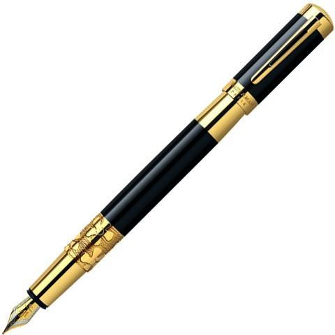 Перьевая ручка Waterman Exception Night&Day Gold GT