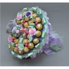 Букет из конфет Нежные чувства