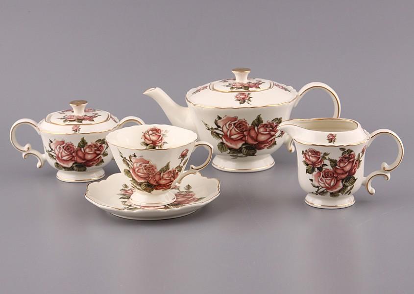 Чайный сервиз Корейская роза