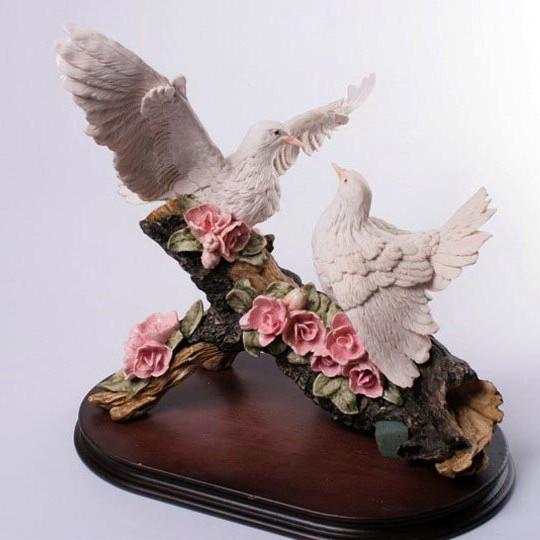 Статуэтка Пара голубей