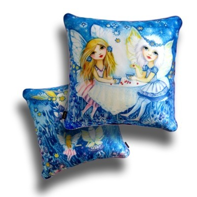 Декоративная подушка «Чаепитие»