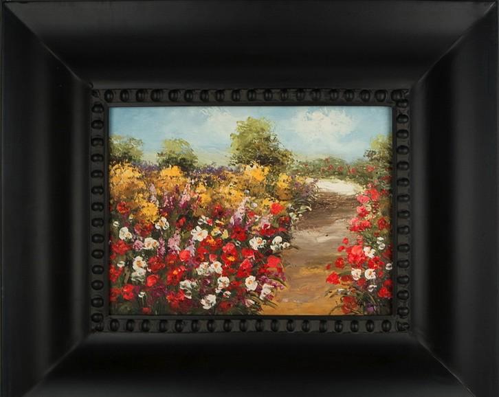 Картина «Цветной путь», холст, масло