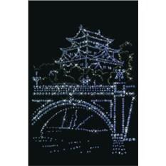 Картина с кристаллами Swarovski Япония