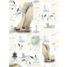 Рисовая бумага для декупажа Craft Premier Отдых на море