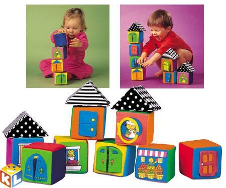 Мягкие кубики в коробке Ks kids