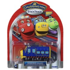 Паровозик Chuggington Брюстер-инженер