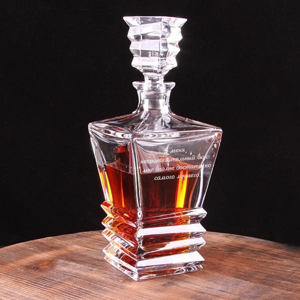 Штоф для виски Рокки