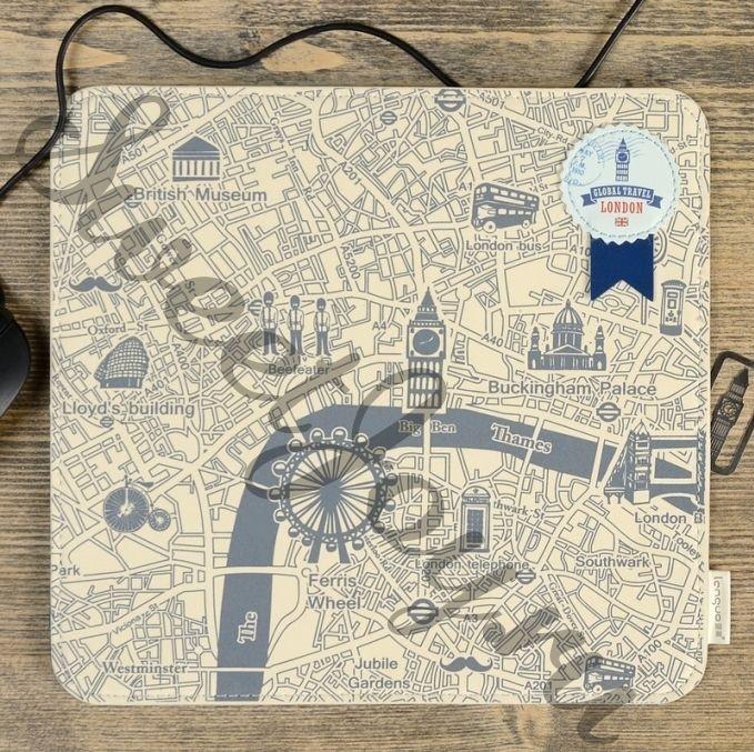 Коврик для мыши Global Travel London