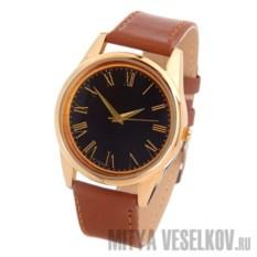 Часы Mitya Veselkov Куранты в золоте (цвет: коричневый)