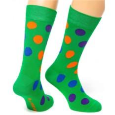 Зеленые носки Friday Dots