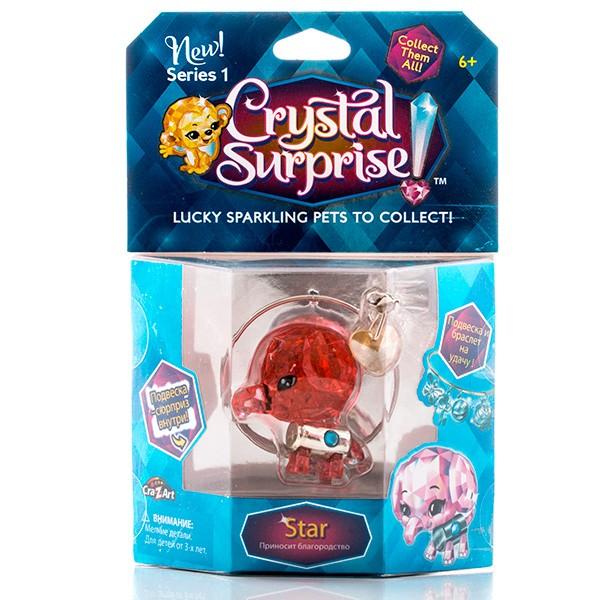 Набор фигурок и украшений Crystal Surprise