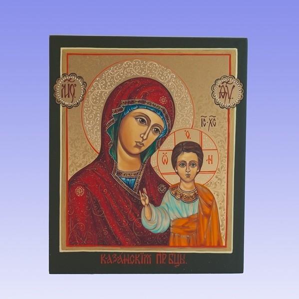 Икона Богородицы Казанская
