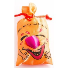 Оранжевый мешок со смехом