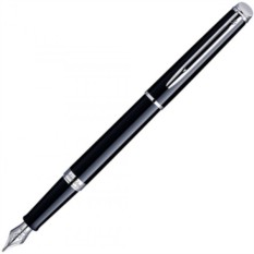 Перьевая ручка Waterman Hemisphere Black CT