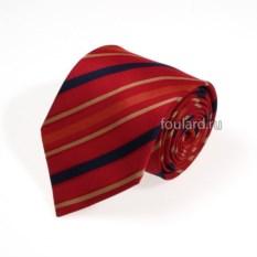 Шелковый галстук в полоску Luciano Soprani