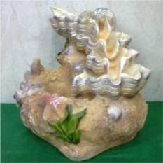 Фонтан с подсветкой Морская раковина (18 см)