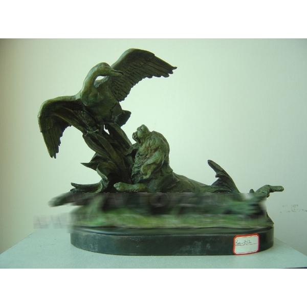 Статуэтка «Охота на утку»