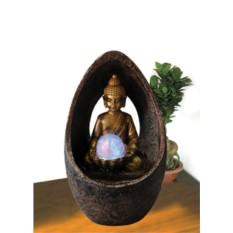 Фонтан с помпой Будда в арке
