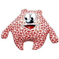 Подушка-игрушка Зацелованный мишка