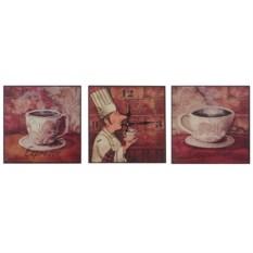 Часы-триптих «Эспрессо»