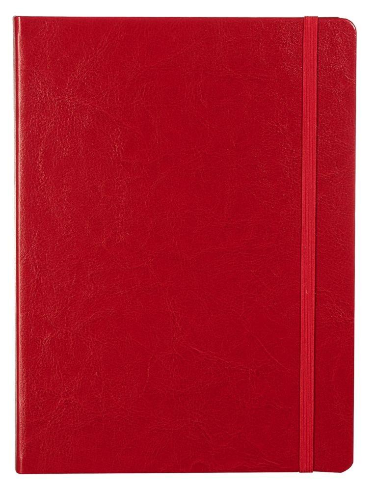 Красная записная книжка Freenote в клетку