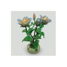 Цветок из бисера Эустома