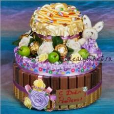 Сладкий торт-шкатулка Сюрприз