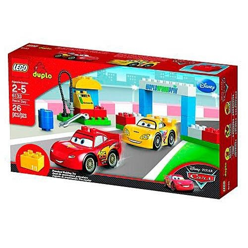 Конструктор LEGO Duplo Тачки 2. Гонки