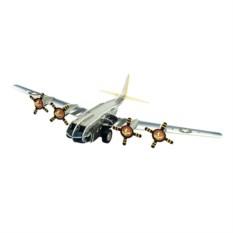 Инерционный 3D-пазл с мотором IQ Бомбардировщик В-17