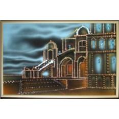 Картина с кристаллами Swarovski Город