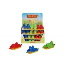 Пластмассовая игрушка Кораблик