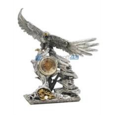 Часы каминные Орел с рогом изобилия