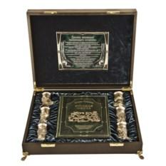 Подарочный набор в ларце с книгой Охотничий