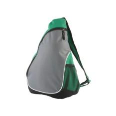Зеленый треугольный рюкзак
