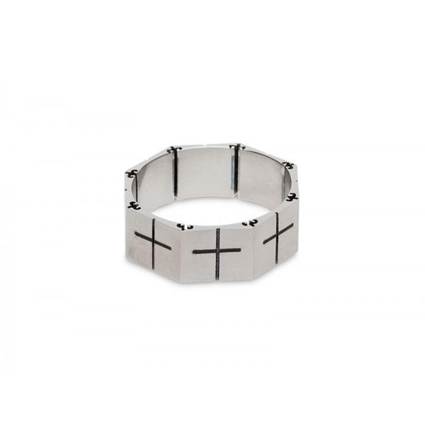 Кольцо Гайка-крест, титон