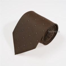 Коричнево-зеленый галстук Idea Seta