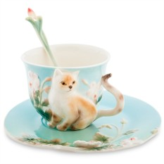 Чайная пара «Котик»