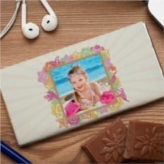 Шоколадная открытка Ваниль