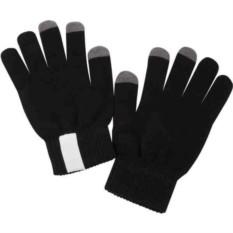 Черные сенсорные перчатки Scroll