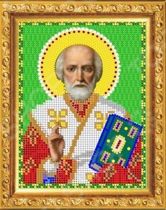 Набор для вышивания бисером «Святой Николай Угодник»