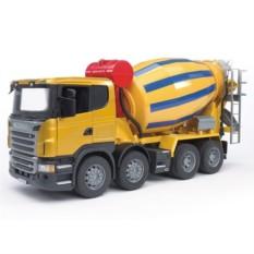 Игрушка Бетономешалка Scania