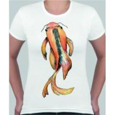 Женская футболка Рыбка
