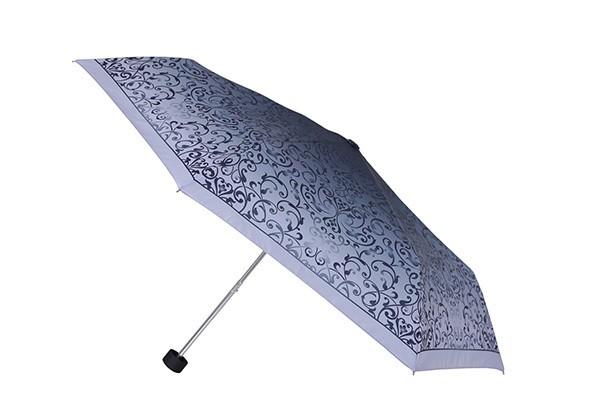 Серый женский зонт Fabretti