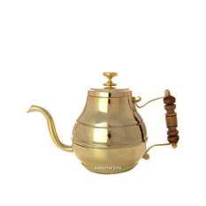 Заварочный латунный чайник для самовара